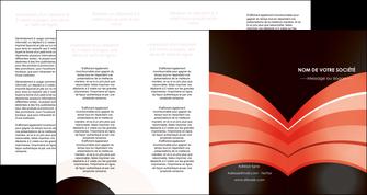 realiser depliant 4 volets  8 pages  web design abstrait abstraction arriere plan MLGI89480