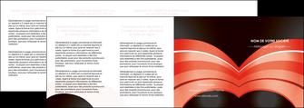 creation graphique en ligne depliant 4 volets  8 pages  web design abstrait abstraction arriere plan MLGI89482