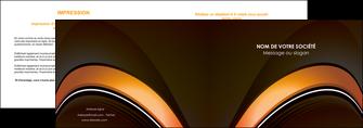 exemple depliant 2 volets  4 pages  web design texture contexture structure MLGI89502