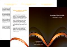 creation graphique en ligne depliant 3 volets  6 pages  web design texture contexture structure MLGI89510