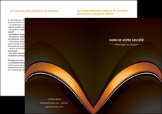 imprimerie depliant 2 volets  4 pages  web design texture contexture structure MLGI89524