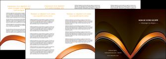 cree depliant 4 volets  8 pages  web design texture contexture structure MLGI89528