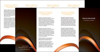 cree depliant 4 volets  8 pages  web design texture contexture structure MLGI89532
