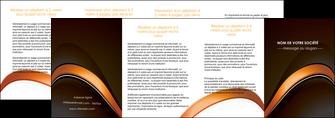 imprimerie depliant 4 volets  8 pages  web design texture contexture structure MLGI89534