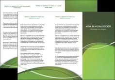 impression depliant 3 volets  6 pages  web design texture contexture structure MIF89600