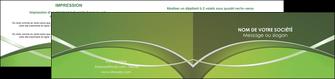 imprimerie depliant 2 volets  4 pages  web design texture contexture structure MIF89610
