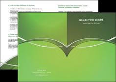 exemple depliant 2 volets  4 pages  web design texture contexture structure MIF89614