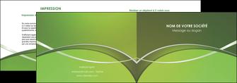 faire depliant 2 volets  4 pages  web design texture contexture structure MIF89618