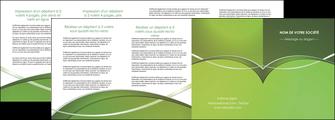 impression depliant 4 volets  8 pages  web design texture contexture structure MIF89636