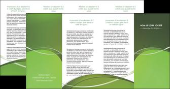 exemple depliant 4 volets  8 pages  web design texture contexture structure MIF89640