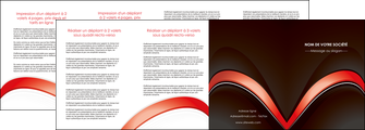 personnaliser maquette depliant 4 volets  8 pages  web design abstrait abstraction arriere plan MLGI89754
