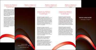 modele depliant 4 volets  8 pages  web design abstrait abstraction arriere plan MLGI89758