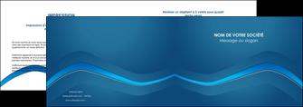 personnaliser modele de depliant 2 volets  4 pages  web design texture contexture structure MLIP90098