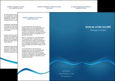 modele en ligne depliant 3 volets  6 pages  web design texture contexture structure MLIP90106