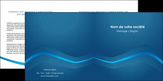 impression depliant 2 volets  4 pages  web design texture contexture structure MLIP90110