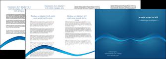 maquette en ligne a personnaliser depliant 4 volets  8 pages  web design texture contexture structure MLIP90124