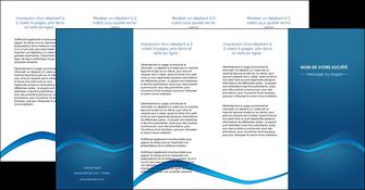 cree depliant 4 volets  8 pages  web design texture contexture structure MLIP90128