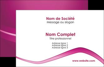 Commander carte de visite pelliculage mat recto verso Web Design modèle graphique pour devis d'imprimeur Carte de Visite - Paysage