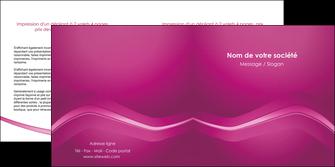 creer modele en ligne depliant 2 volets  4 pages  web design texture contexture structure MLGI90556