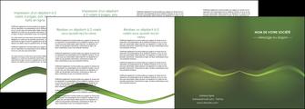 faire modele a imprimer depliant 4 volets  8 pages  texture contexture structure MLGI90622