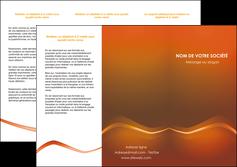 faire depliant 3 volets  6 pages  web design texture contexture abstrait MLGI90830