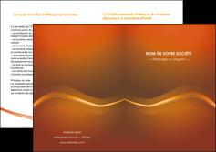 maquette en ligne a personnaliser depliant 2 volets  4 pages  web design texture contexture abstrait MLGI90844