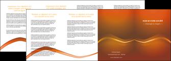 personnaliser maquette depliant 4 volets  8 pages  web design texture contexture abstrait MLGI90848