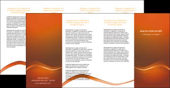 imprimer depliant 4 volets  8 pages  web design texture contexture abstrait MLGI90852