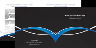 faire modele a imprimer depliant 2 volets  4 pages  reseaux texture contexture structure MIS90868