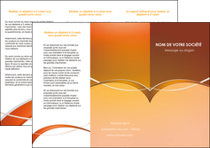 cree depliant 3 volets  6 pages  web design texture contexture abstrait MLGI91072