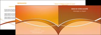 personnaliser maquette depliant 2 volets  4 pages  web design texture contexture abstrait MLGI91090