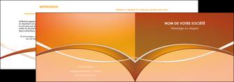 maquette en ligne a personnaliser depliant 2 volets  4 pages  web design texture contexture abstrait MLGI91092