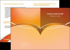 imprimer depliant 2 volets  4 pages  web design texture contexture abstrait MIFLU91100
