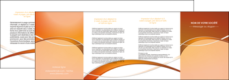 faire depliant 4 volets  8 pages  web design texture contexture abstrait MLGI91108