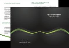 faire depliant 2 volets  4 pages  web design texture contexture abstrait MLGI91218