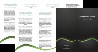 cree depliant 4 volets  8 pages  web design texture contexture abstrait MLGI91224