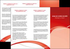 exemple depliant 3 volets  6 pages  web design texture contexture abstrait MIF91446