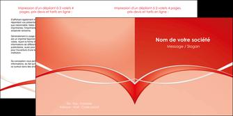 maquette en ligne a personnaliser depliant 2 volets  4 pages  web design texture contexture abstrait MIF91450