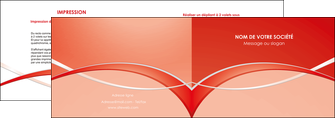 realiser depliant 2 volets  4 pages  web design texture contexture abstrait MIF91464
