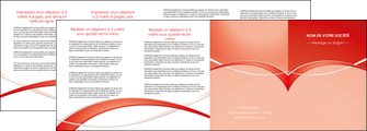 faire modele a imprimer depliant 4 volets  8 pages  web design texture contexture abstrait MIF91482