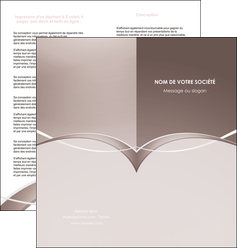impression depliant 2 volets  4 pages  web design texture contexture abstrait MIS91500
