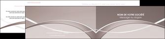 cree depliant 2 volets  4 pages  web design texture contexture abstrait MIS91508