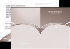 personnaliser maquette depliant 2 volets  4 pages  web design texture contexture abstrait MIS91512