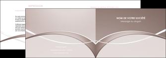 maquette en ligne a personnaliser depliant 2 volets  4 pages  web design texture contexture abstrait MIS91516