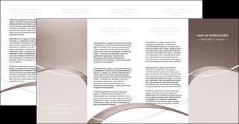 faire depliant 4 volets  8 pages  web design texture contexture abstrait MIS91538