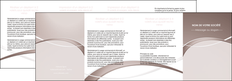 creer modele en ligne depliant 4 volets  8 pages  web design texture contexture abstrait MIS91540