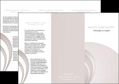 cree depliant 3 volets  6 pages  web design texture contexture structure MLGI92410