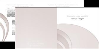 realiser depliant 2 volets  4 pages  web design texture contexture structure MLGI92414