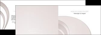 maquette en ligne a personnaliser depliant 2 volets  4 pages  web design texture contexture structure MLGI92430