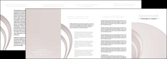 creer modele en ligne depliant 4 volets  8 pages  web design texture contexture structure MLGI92446